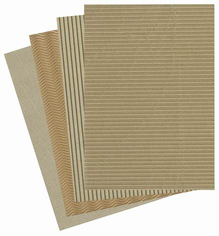 Natural Corrugated Paper Cardboard