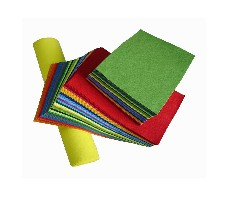 Color Craft Felt Sheets and Rolls