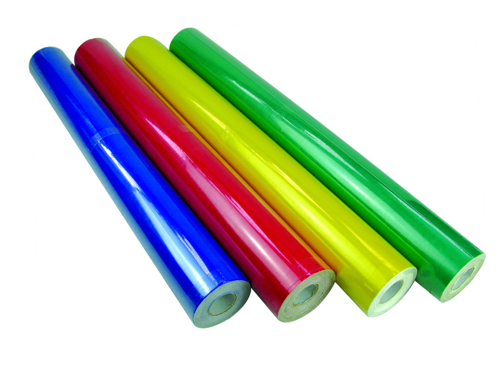 JUMBO SOLID COLOR SELF ADHESIVE ROLLS