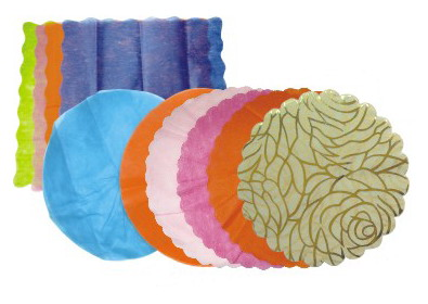 NON-WOVEN WRAP IN SHAPES