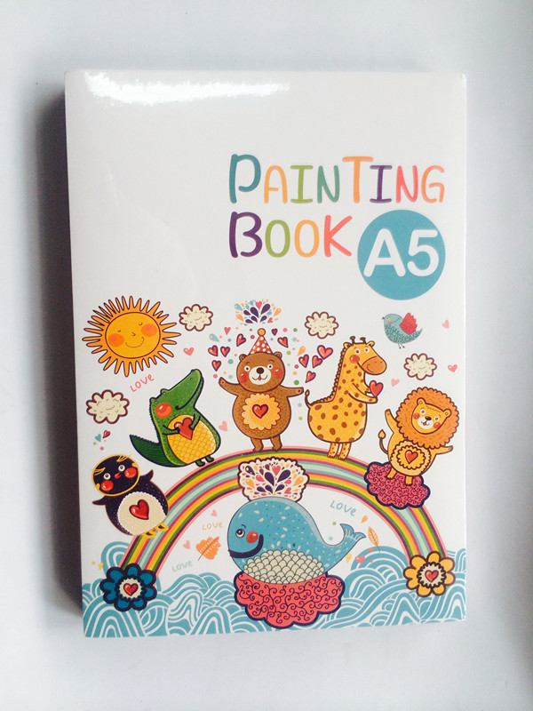 A5 Painting Book